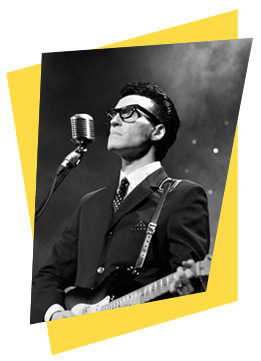 Spencer J as Buddy Holly Photo
